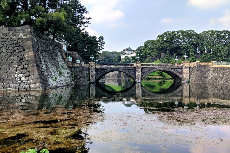 Tokyo Imperial Palace and Nijyubashi Bridge, Japan travel itinerary for first time visitors