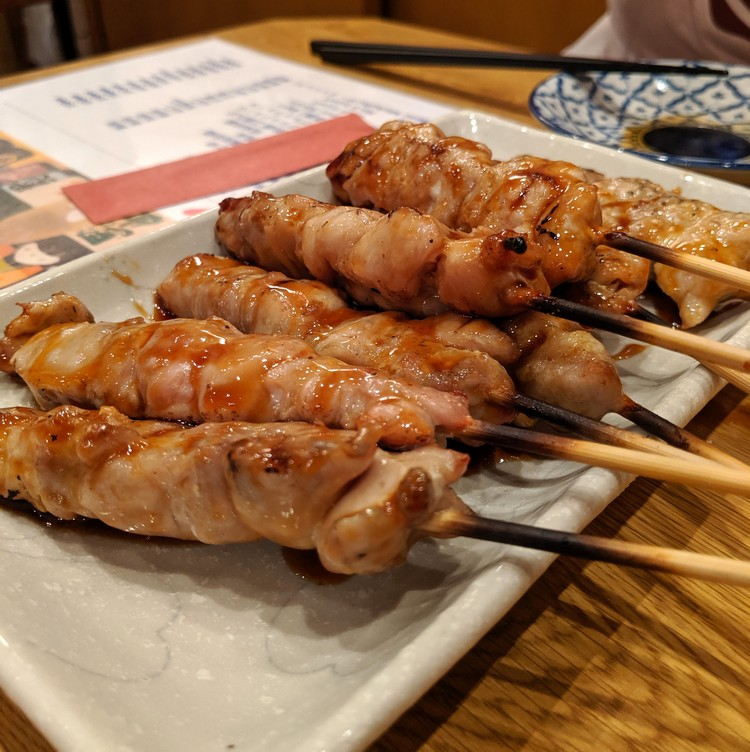 Yakitori chicken skewers, quick guide to Japanese food for travellers
