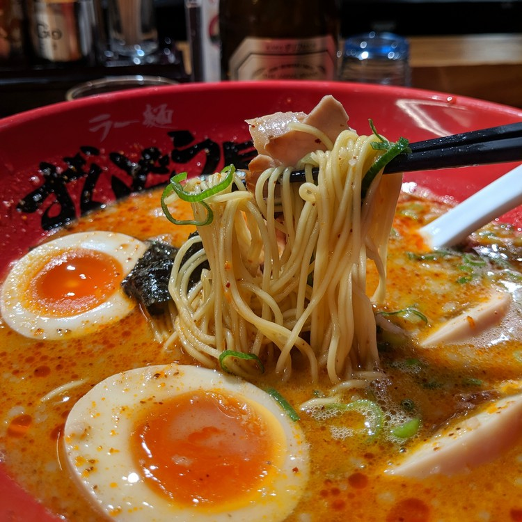 ramen noodle soup, food in Japan for tourists