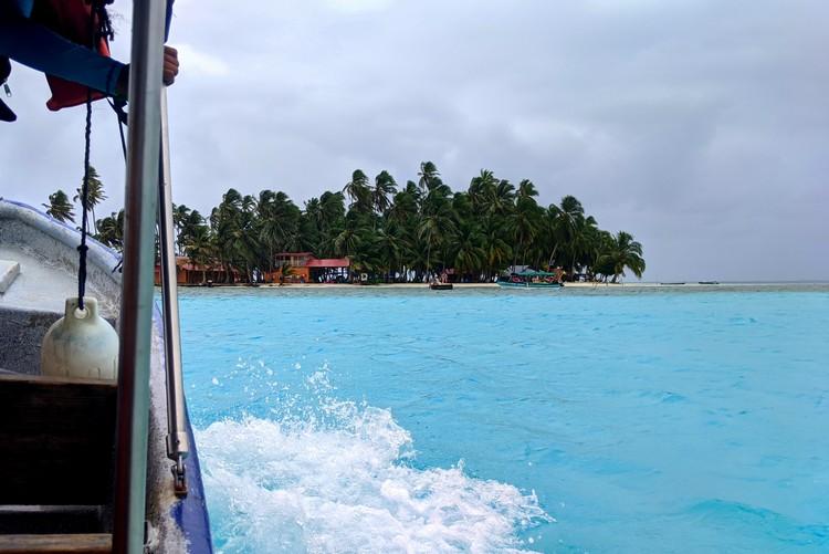 boat ride to San Blas Islands from Panama City, Yanis Island