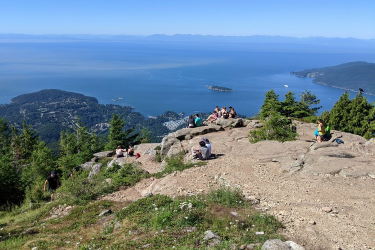 Eagle Bluffs viewpoint in Cypress Provincial Park, West Vancouver, British Columbia
