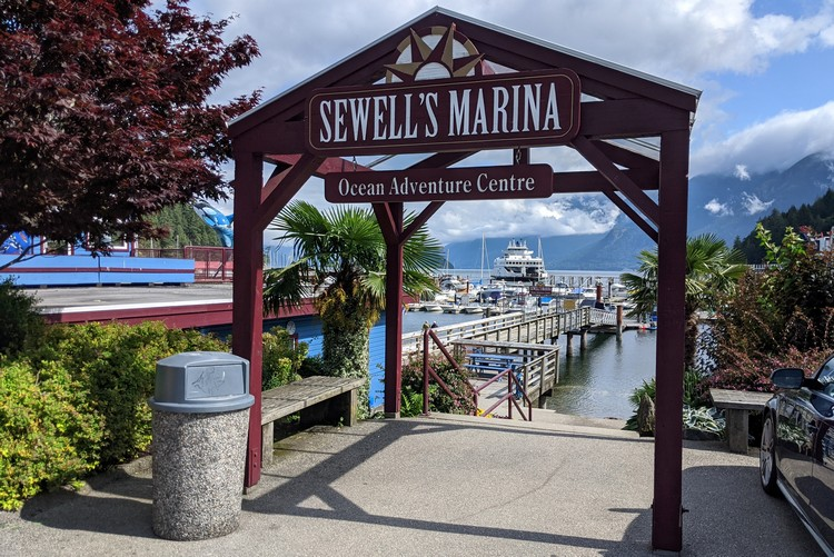 Sewell's Marina boat rentals at Horseshoe Bay in West Vancouver, Sea to Sky Highway attractions