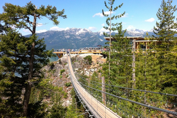 Sky Pilot Suspension Bridge, things to do along the Sea to Sky Highway