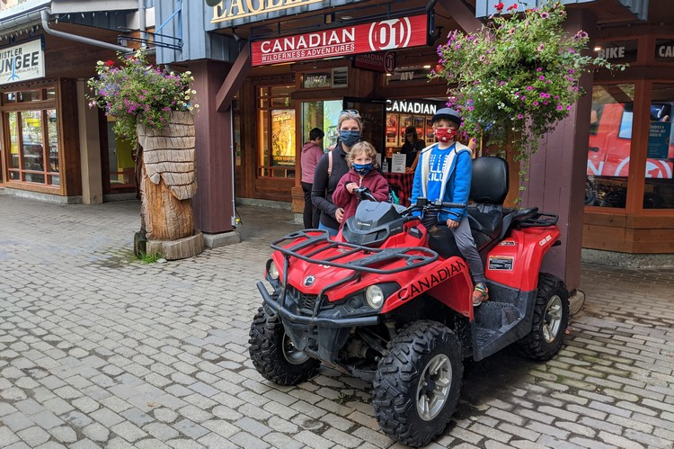 Jeep tour with Canadian Wilderness Adventures Whistler Village ATV
