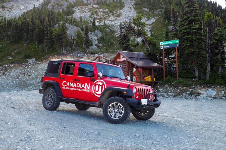 Whistler Jeep Tour with Canadian Wilderness Adventures, Jeep 4x4 Adventure and Sightseeing