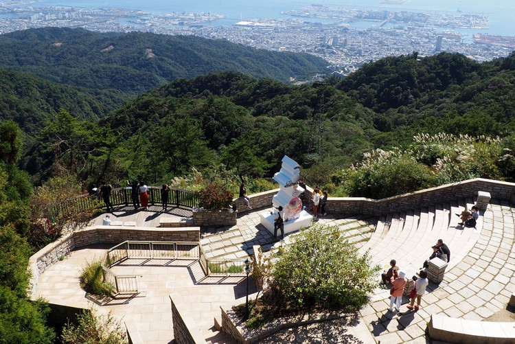 Observation platform at Mount Rokko, Things to do in Kobe for tourists