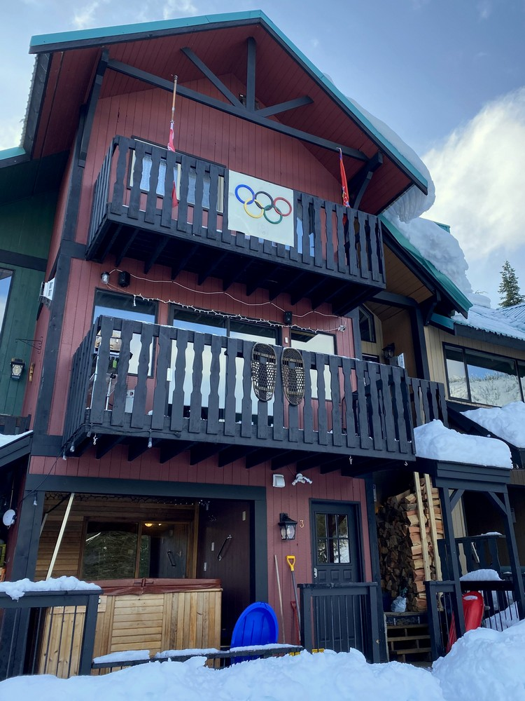 ski chalet Sasquatch Mountain British Columbia