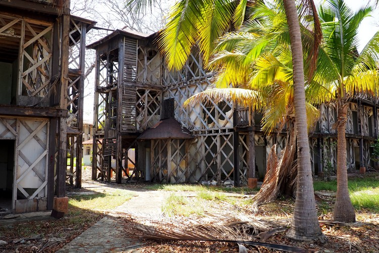 the abandoned Hotel Contadora Resort, Pearl Islands beach resort, Panama