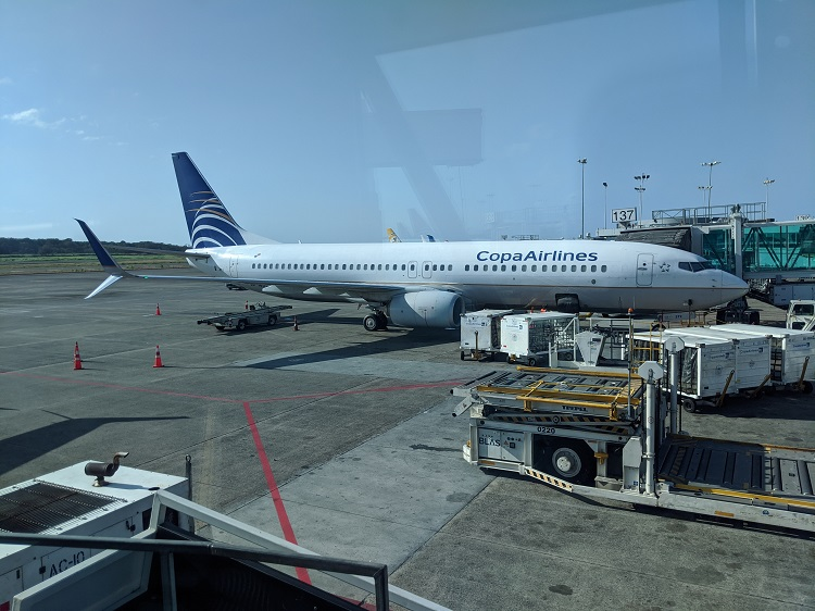 Copa Airlines in Panama City