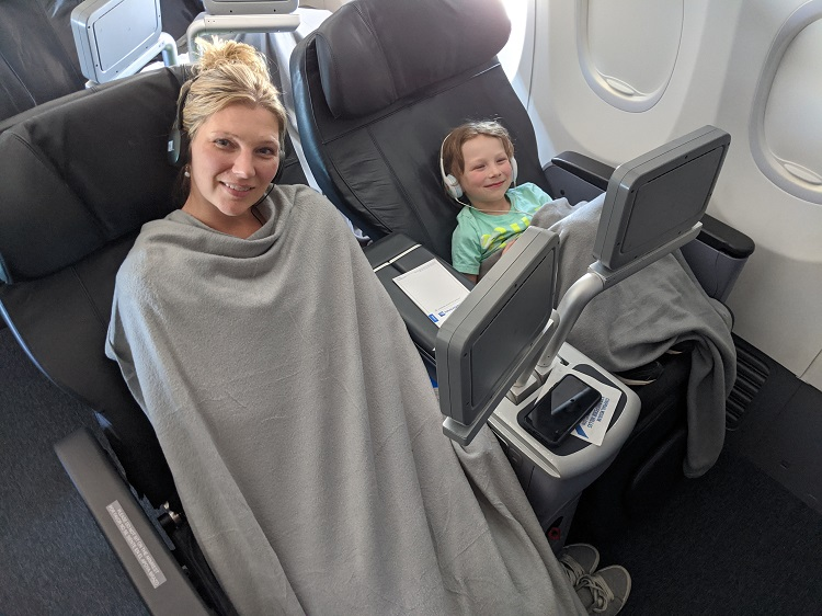 The Seats in Copa Airlines Business Class