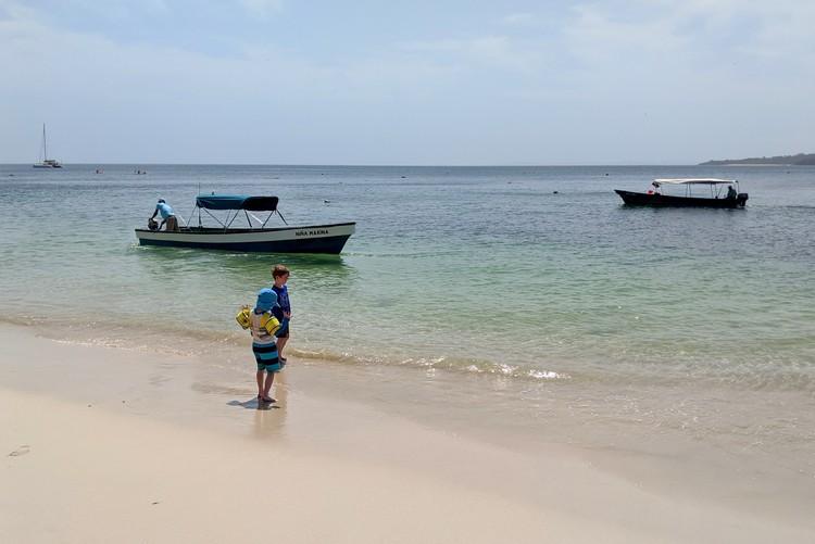 Cacique Beach Contadora Island, Pearl Islands, family travel Panama