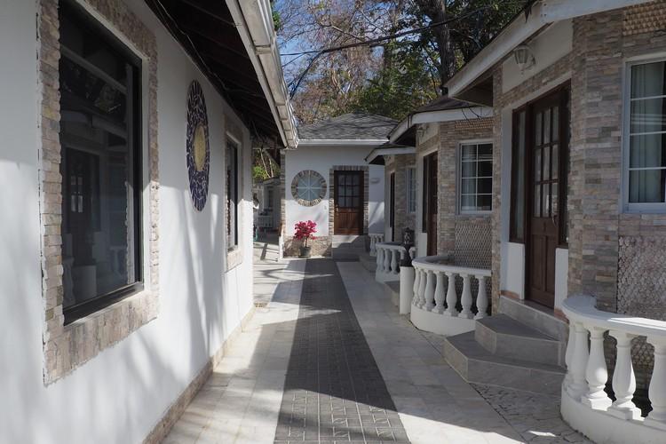 exterior of guestrooms at Hotel Mar y Oro Contadora Island, Pearl Islands Panama