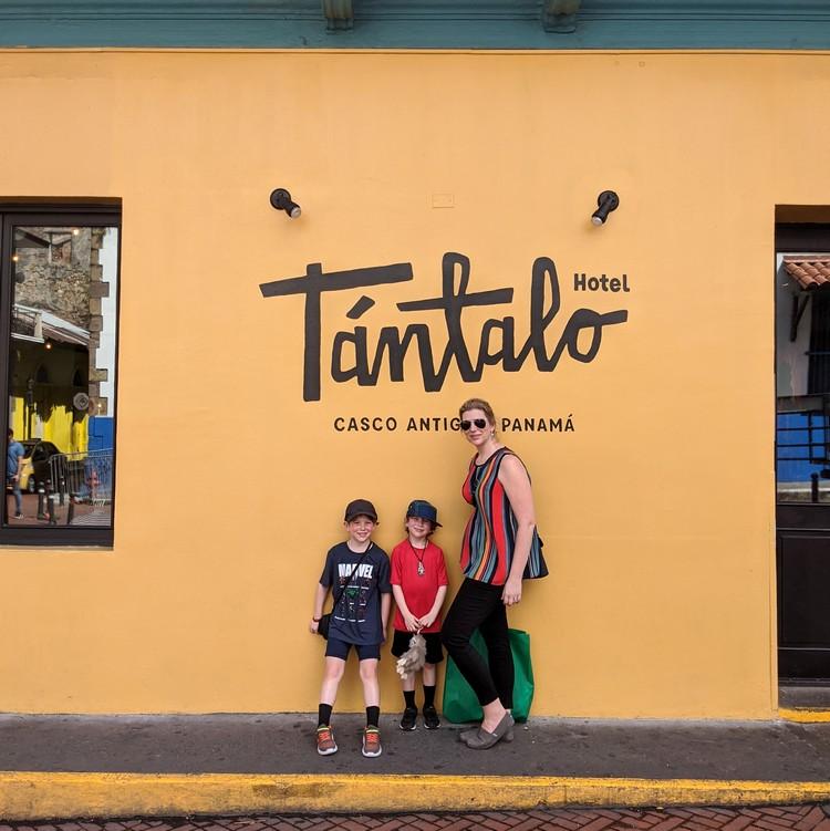 Tantalo Hotel restaurant in Casco Viejo Panama City