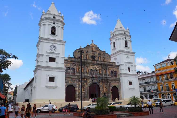 Panama Metropolitan Cathedral, photos of Casco Viejo, Panama City Old Town