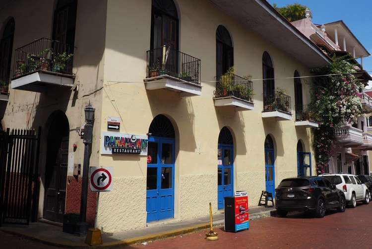 panama hat restaurant in Casco Veijo Panama City