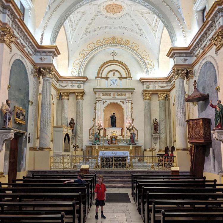 Parroquia San Felipe de Neri, a Catholic church in Casco Veijo Panama City