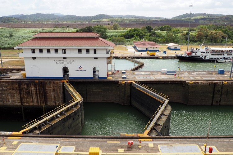 Miraflores Locks Panama Canal in Panama City